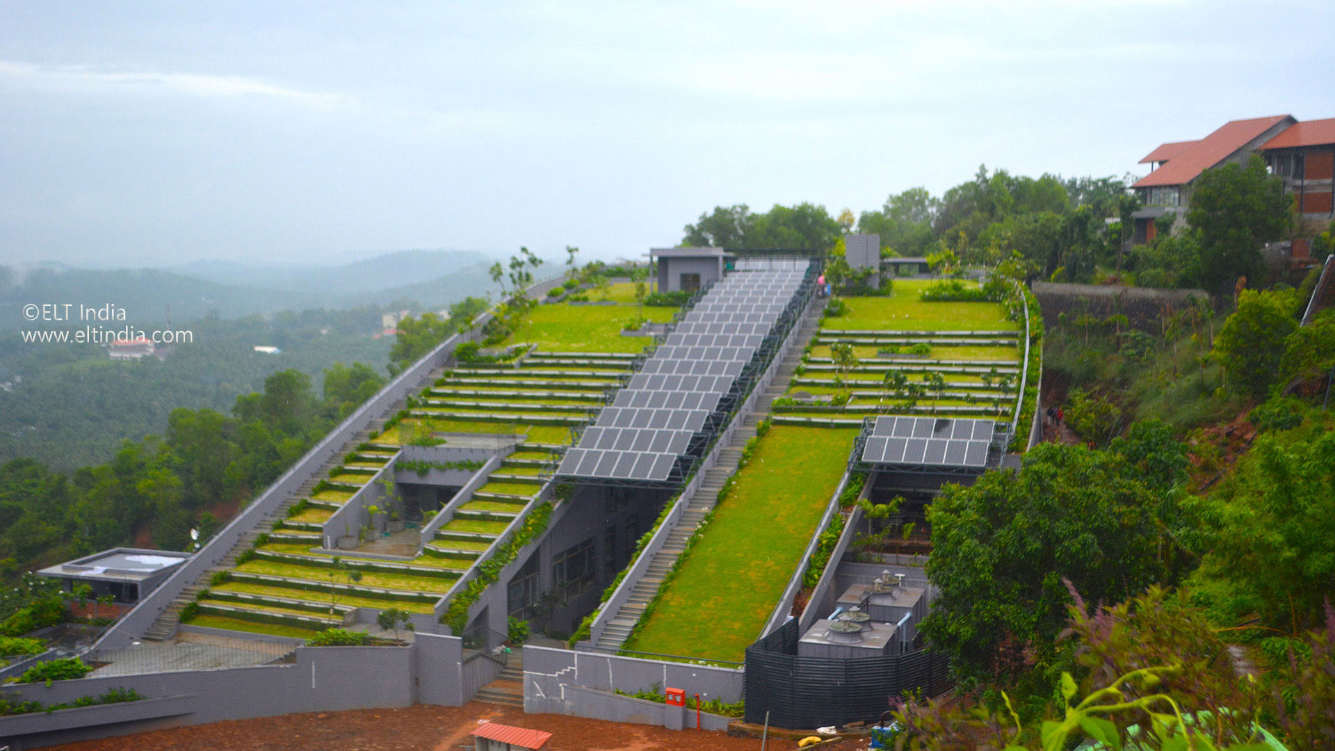 Vertical Garden Company - product ELT Green roof system